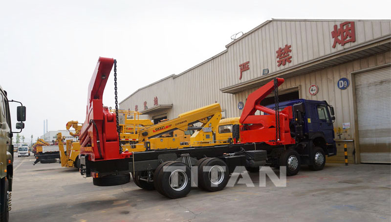 20ft container side loader truck