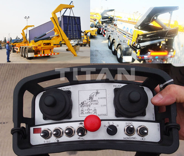 container side loader with the remote for sale