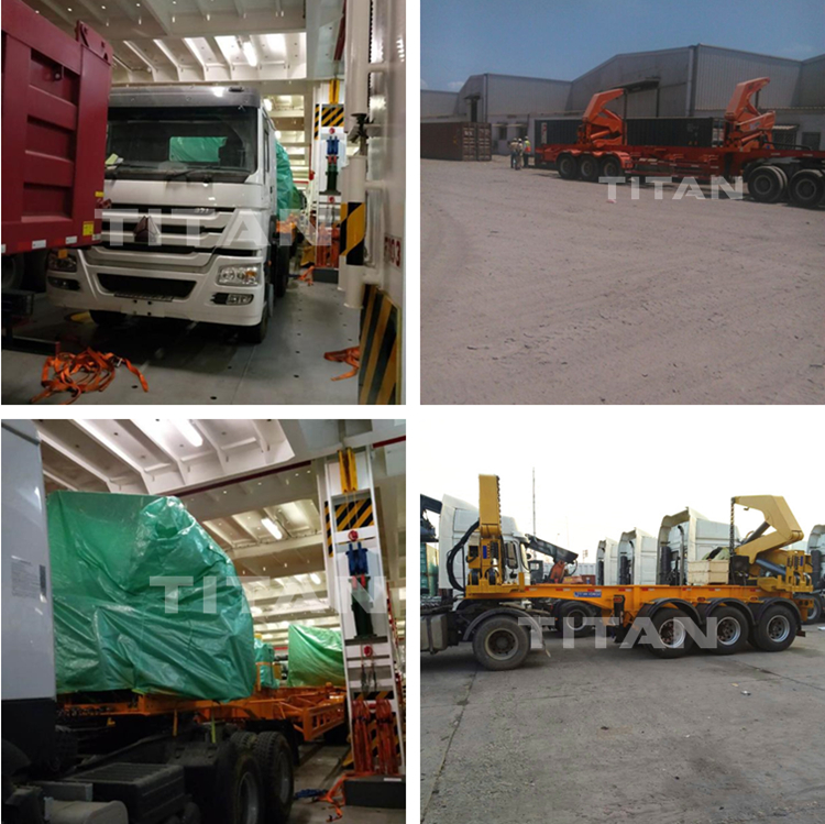 Conatiner side loader shipment and package
