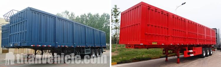 Box semi trailer For Sale In Malawi