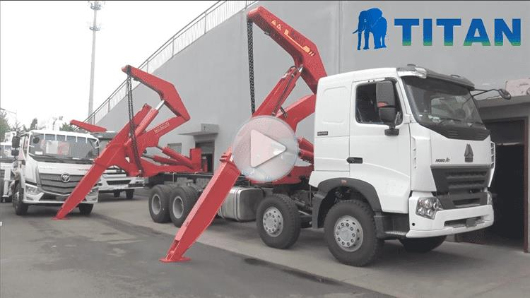 20Ft Side Loader Truck