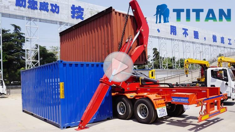 37T Container Side Lifter Trailer