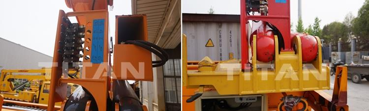 Details of 20/40Ft Container Side Lifter